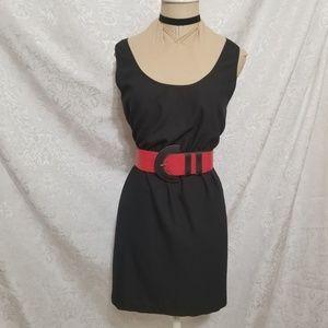 C. Luce Sheer Back Dress